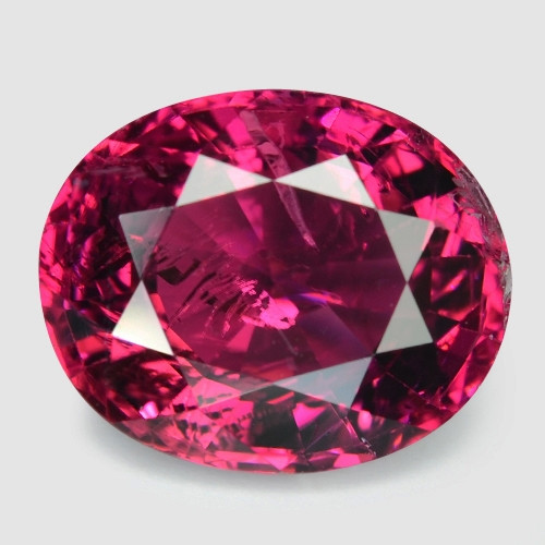 2.95 Cts Un Heated Pink Color Natural Tourmaline Loose Gemstone