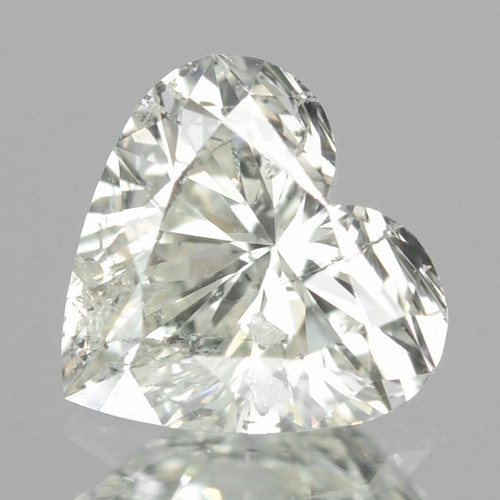 0.40 Cts Untreated Fancy White Color Natural Loose Diamond