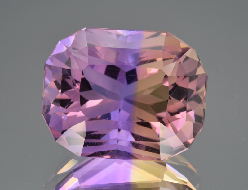 Natural Ametrine 17.62 Cts Top Quality with Precision Cut