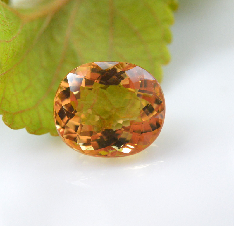 3.80 Ct Natural Heliodor ~ AAA Grade ~ Yellow Color