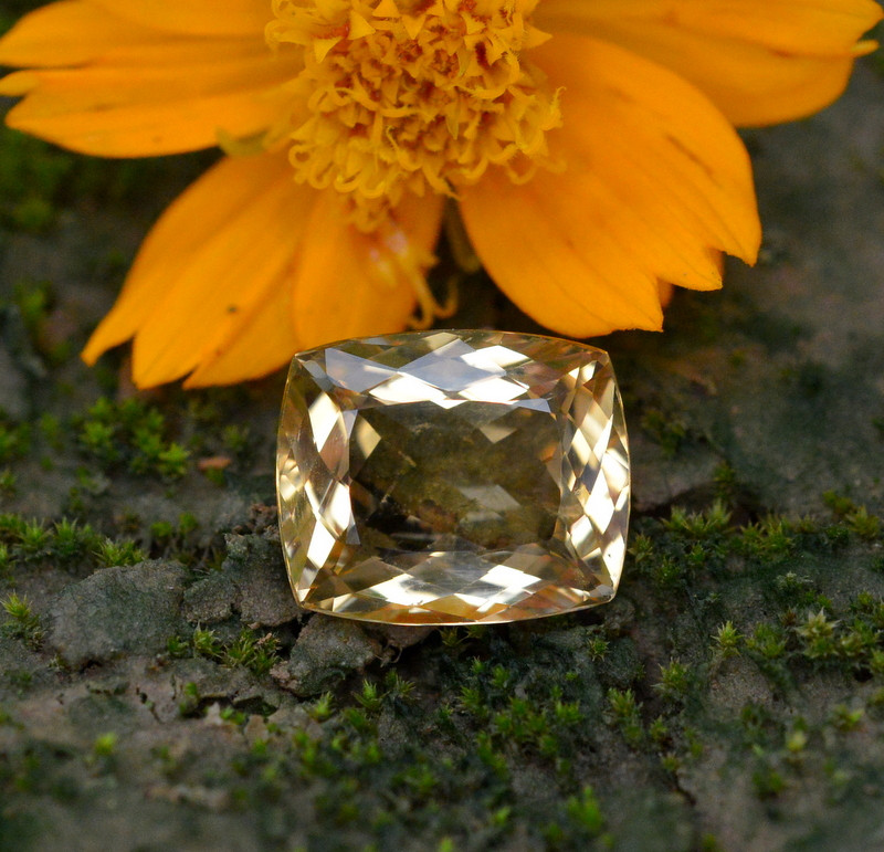 5.80 Ct Natural Heliodor ~ AAA Grade ~ Yellow Color