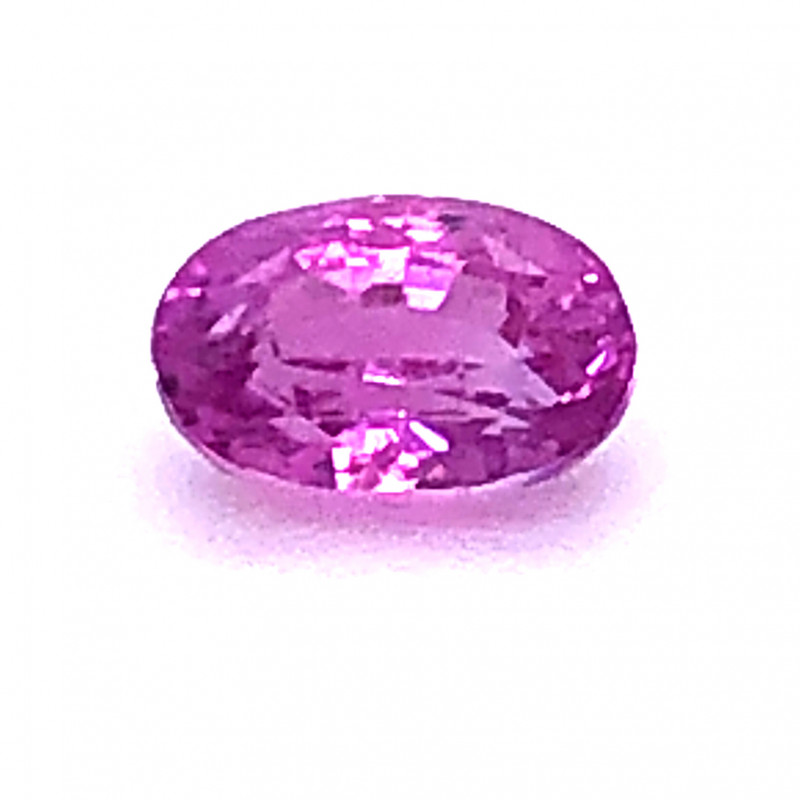 GIA Certified 1.07 Carat Pink Sapphire No Heat No Treatment Oval Cut