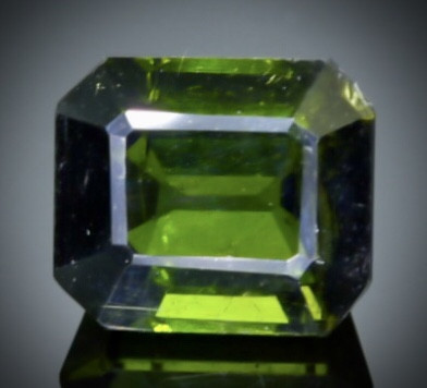 2.50 Crt  Tourmaline Faceted Gemstone (Rk-97)