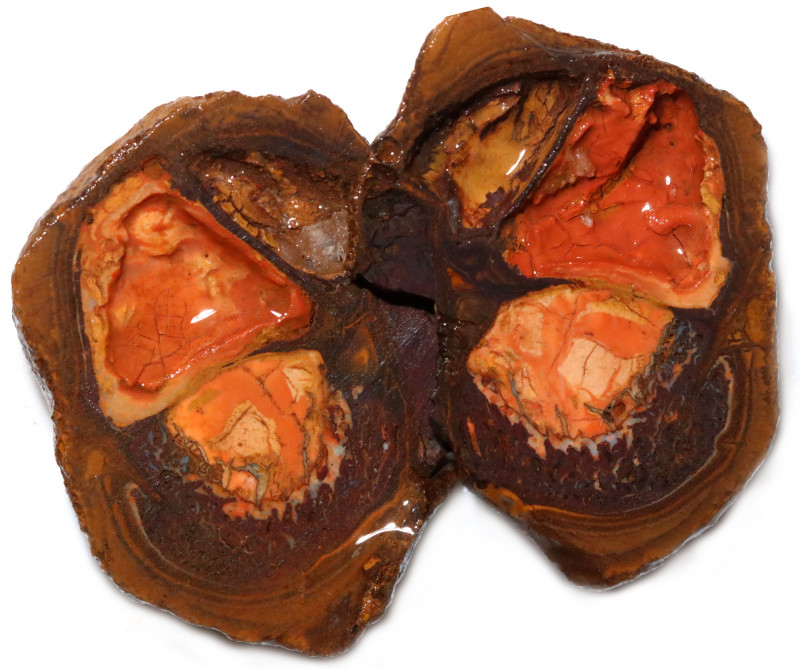 146.75 CTS YOWAH PHANTOM NUTS SPECIMEN-AUSTRALIA [MGW8090]
