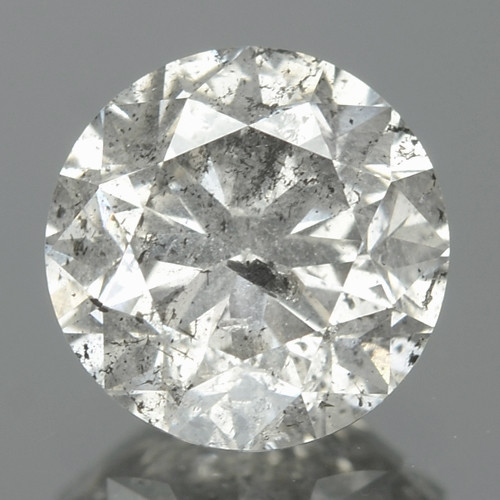 1.01 Cts Untreated Fancy  Greyish White Color Natural Loose Diamond