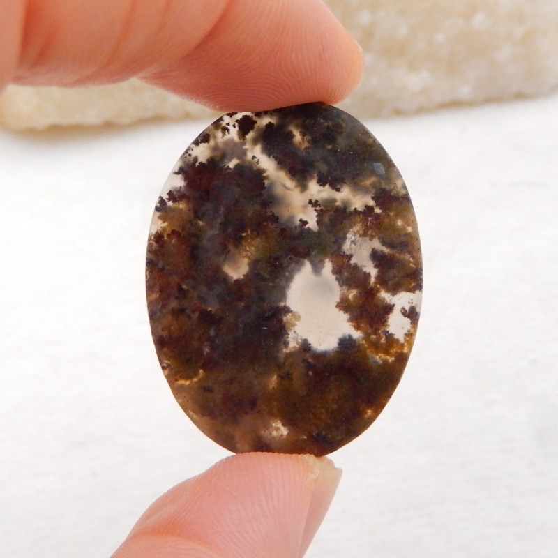51.5Cts Natural Warring Agate Gemstone Natural Agate Cabochon H515