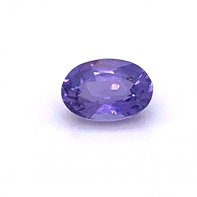Unheated Purple Sapphire GIA Certified 1.36 Carat Untreated GIA Certificate