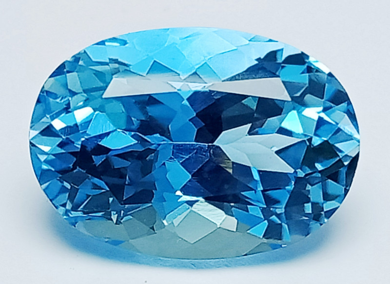 18.15 Ct Natural Topaz Excellent Cutting Top Luster Gemstone. TPF 05