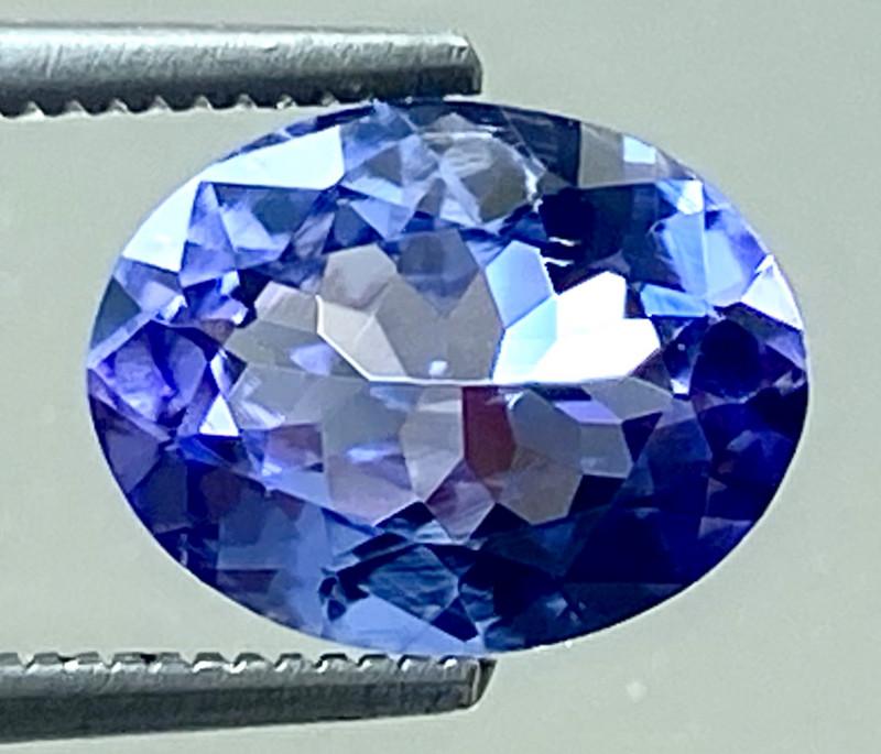 1.55 Ct Tanzanite Excellent Quality Gemstone. TN 003
