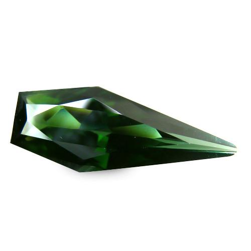 Hypnotic Africa Tourmaline 3.15 Cts Green Geometric Cut BGC112
