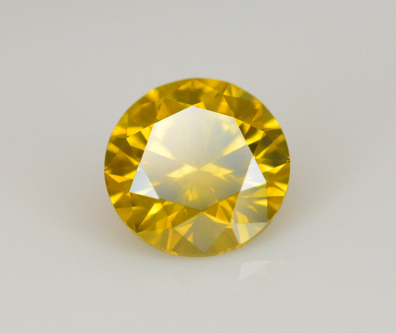 1.14 Carat Natural Fancy Yellow Diamond Gemstone