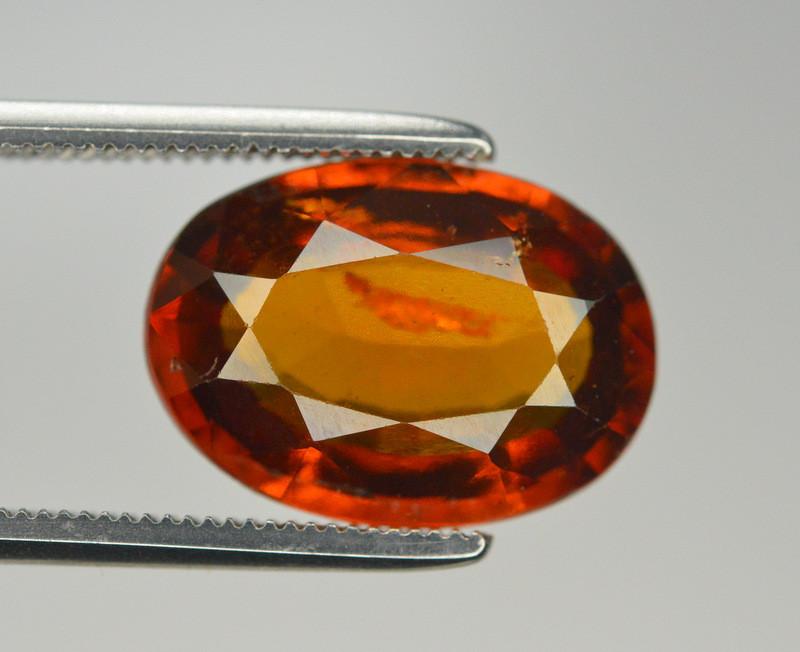 Natural 5.40 Ct Unheated Cinnamon Hessonite Garnet from Ceylon
