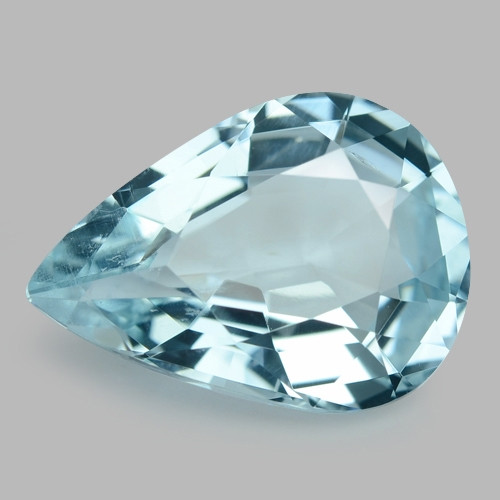 5.55 Cts Un Heated  Santa Maria Blue  Natural Aquamarine Loose Gemstone