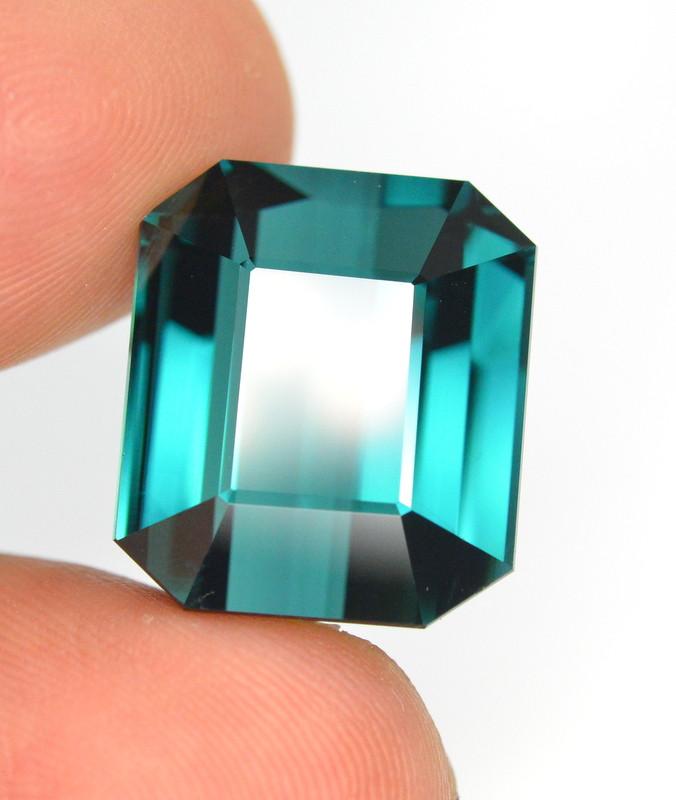 27.15 Carat Natural Indicolite Tourmaline Gemstone
