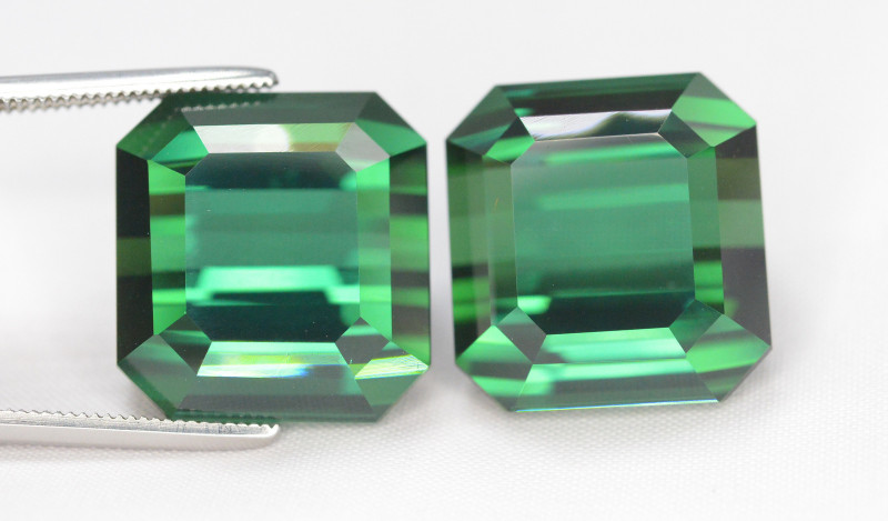 40.60 Carat Natural Beautiful Pair Of Tourmaline Gemstone