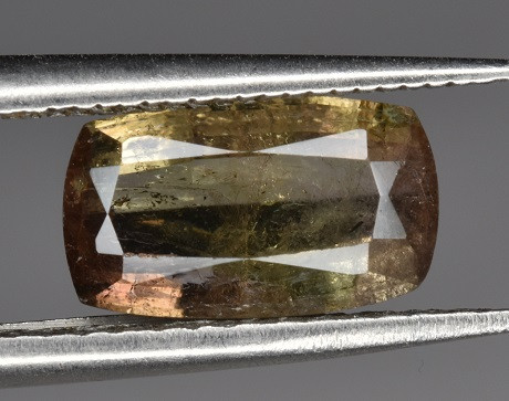 Rare 1.65 CTS Axinite Faceted Gem