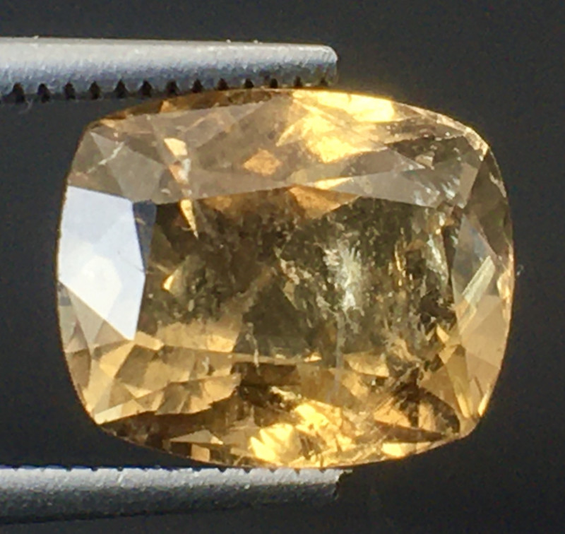 2.90 Ct Axinite World's Rarest Top Luster Gemstone From Pakistan. AX 05