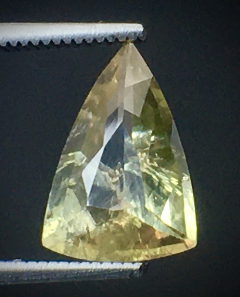 1.75 Ct Axinite World's Rarest Top Luster Gemstone From Pakistan. AX 09