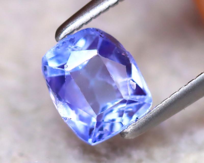 Tanzanite 1.06Ct Natural VVS Purplish Blue Tanzanite DF2823/D3