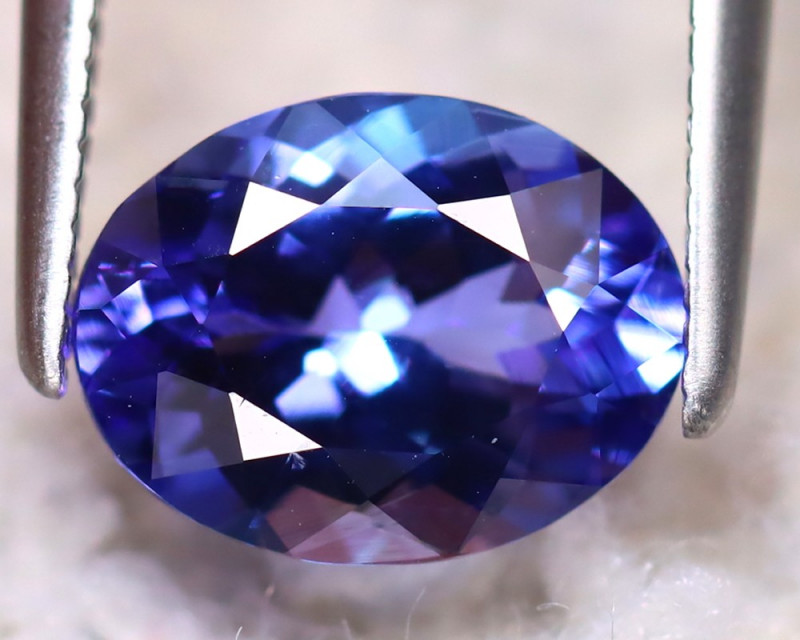 Tanzanite 2.00Ct Natural VVS Purplish Blue Tanzanite DR380/D4