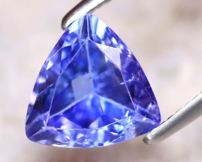 Tanzanite 1.60Ct Natural VVS Purplish Blue Tanzanite DR382/D4