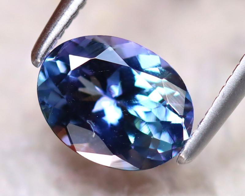 Tanzanite 1.30Ct Natural VVS Purplish Blue Tanzanite DR384/D4
