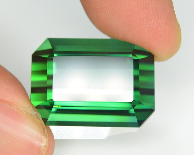 33.60  Carat Natural  Afghanistan Green Tourmaline