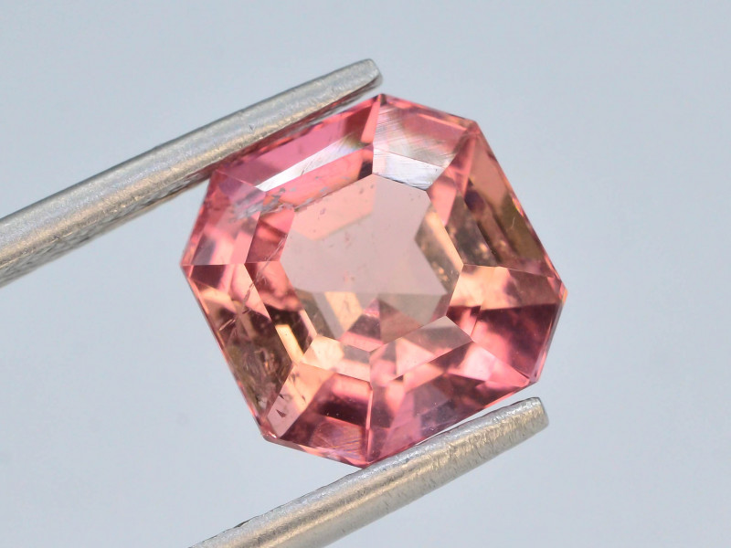 Majestic Color 3.55 ct Natural Afghan Baby Pink Tourmaline ~ G