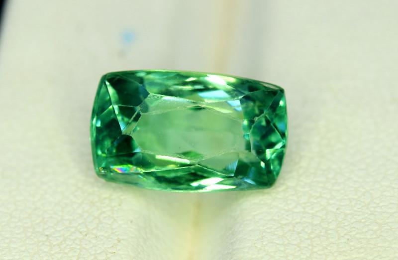 NR Auction 6.60 Grams Amazing Lush Green Hiddenite Kunzite Gemstone