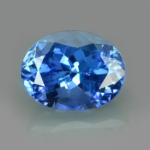 2.10 CTS~SPECTACULAR NATURAL ULTRA RARE LUSTER BLUE TANZANITE~$620.00