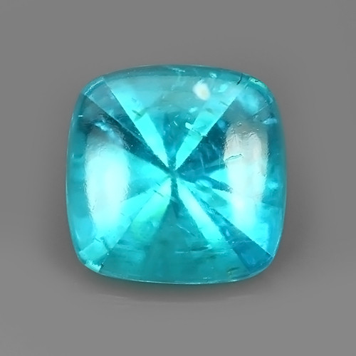2.70 Cts Surprising Cushion Outstanding Unheated Natural Apatite Blue!!