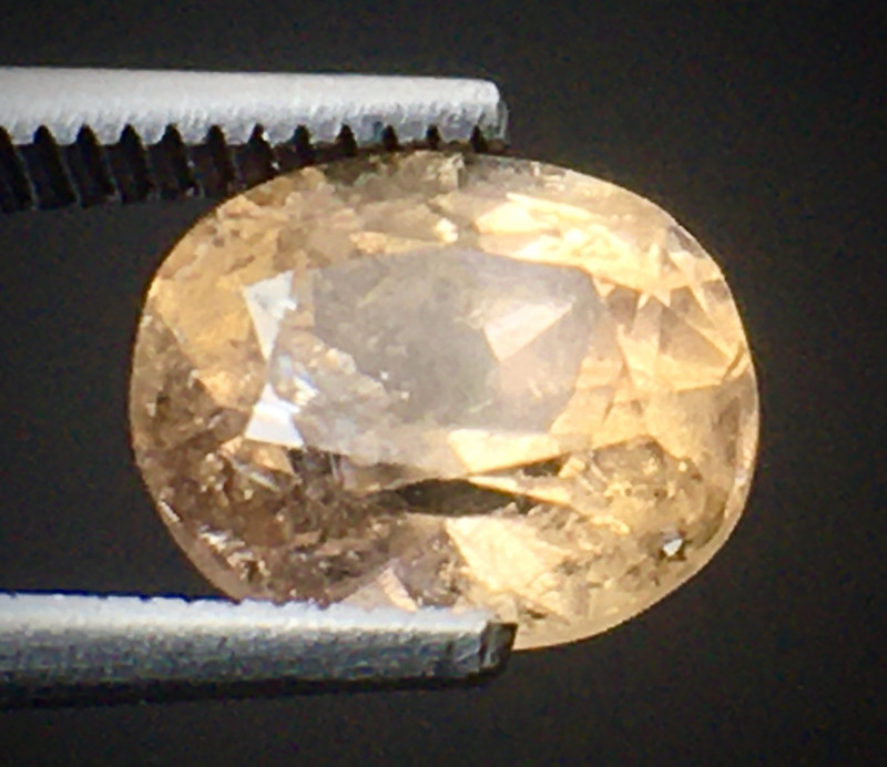 1.45 Ct Axinite World's Rarest Top Luster Gemstone From Pakistan. AX 17