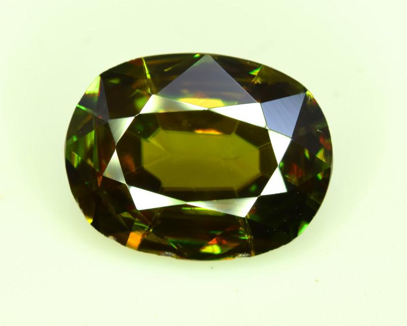 3.85 Carats Top Grade Natural Sphene Titanite From Pakistan
