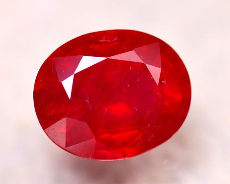 Ruby 9.04Ct Madagascar Blood Red Ruby ER293/A20