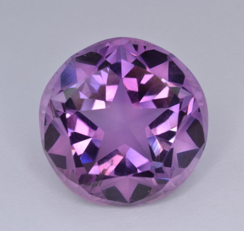 Natural Amethyst 53.40 Cts Top Quality with Precision Cut