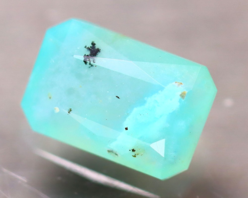Paraiba Opal 1.70Ct Natural Peruvian Paraiba Color Opal D3010/A2
