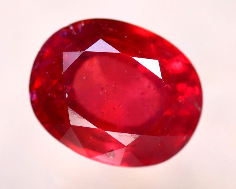 Ruby 4.18Ct Madagascar Blood Red Ruby D3014/A20