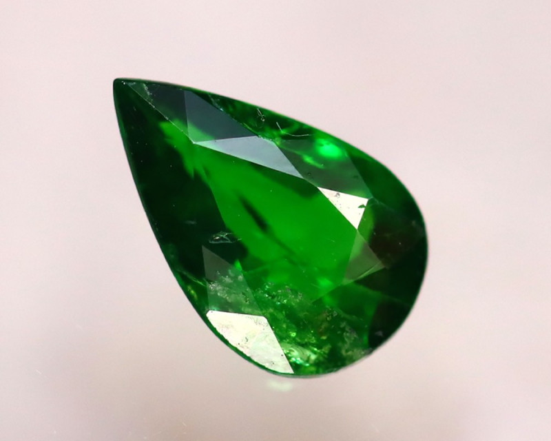 Tsavorite 0.78Ct Natural Intense Vivid Green Color Tsavorite Garnet D0102