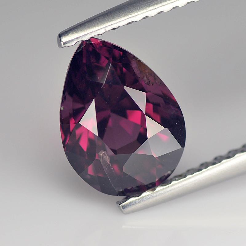 Stiking Pink Cylon Spinel 1.9 Cts step Cut Pear BGC578