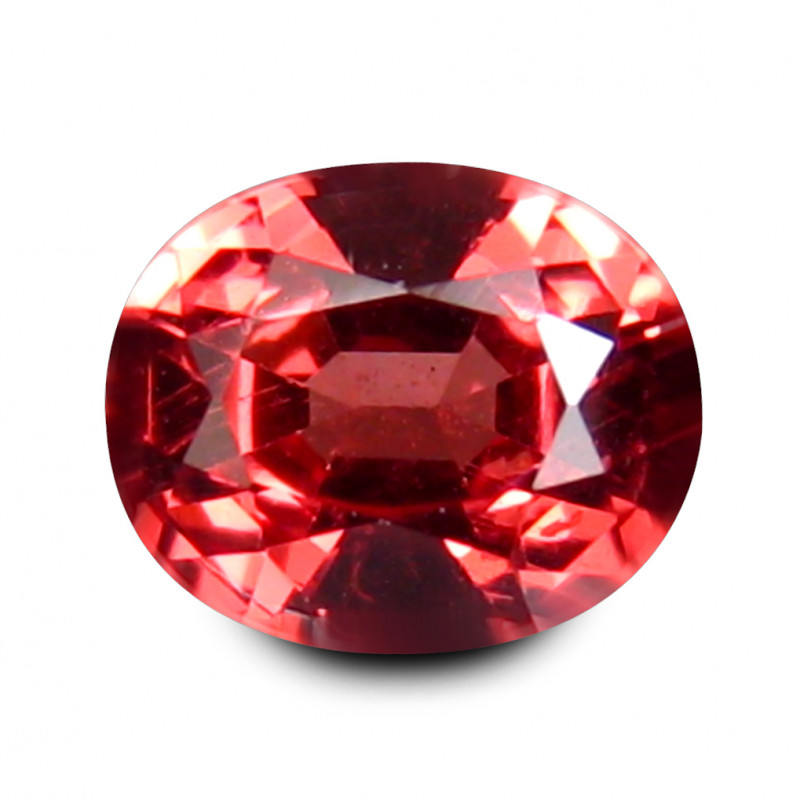 Smashing 0.521 Cts Tanzania SPINEL Red Oval Antique Step Cut BGC447