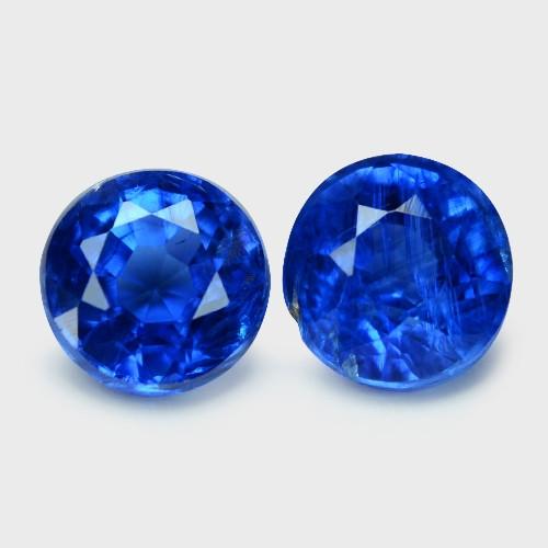 1.24 Cts Fancy Royal Blue Color Natural Kyanite Gemstone
