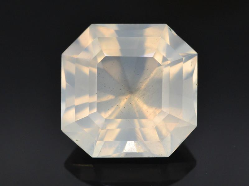 Rare Pink  8.40 ct Feldspar Moonstone~Asscher Cut ~ GA