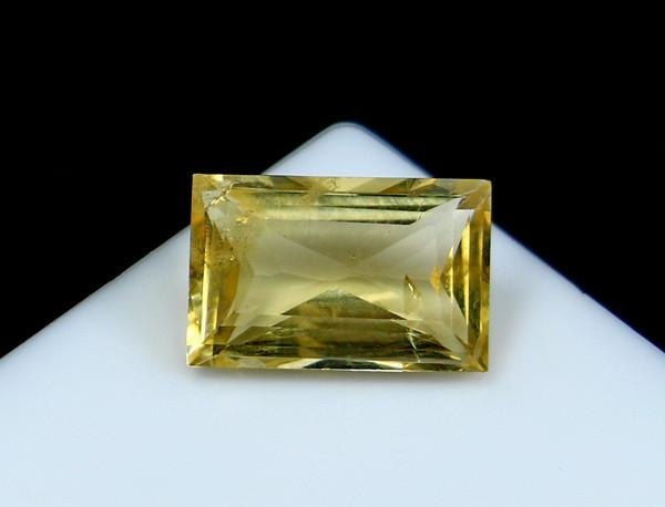 NR!!! 2.35 CTs Natural - Unheated Yellow Beryl Heliodor Gemstone