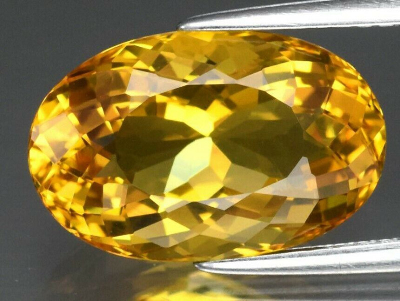Super Clean! 5.12ct   Natural Earth Mined Yellow Beryl, Madagascar
