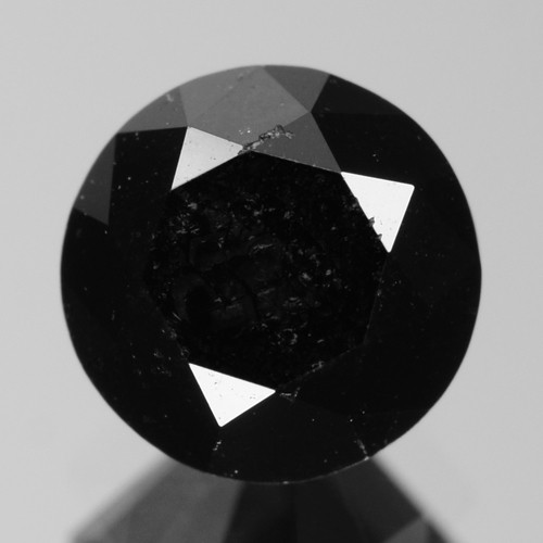 0.94 Cts Amazing Rare Fancy Black Color Natural Loose Diamond