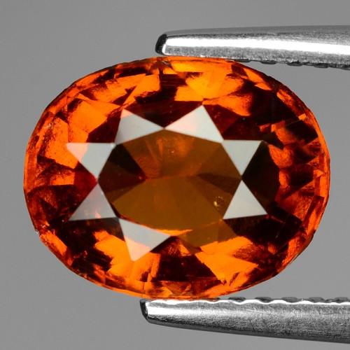 2.99 Cts Untreated Orange Color Natural Hessonite Garnet Gemstone