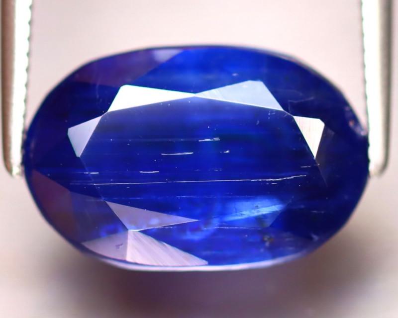 Kyanite 7.42Ct Natural Himalayan Royal Blue Color Kyanite ER310/A401