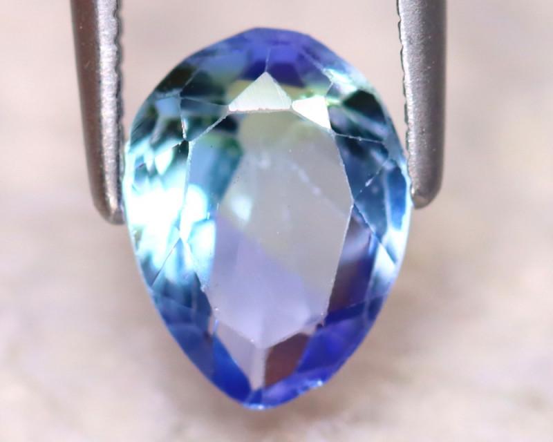 Tanzanite 1.42Ct Natural VVS Purplish Blue Tanzanite DF0917/D3
