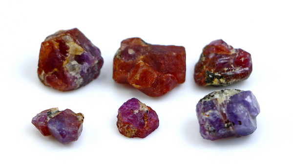 NR!!! 54.90 CTs Natural - Unheated Pink Ruby Rough Lot