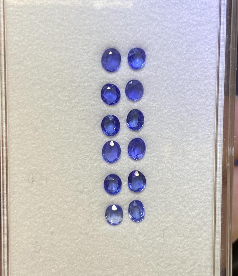 1.55ct unheated blue sapphire